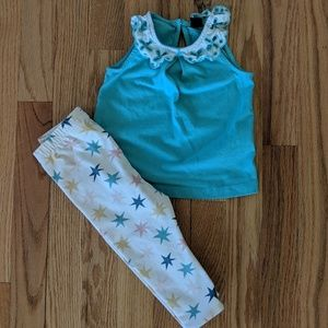 Hanna Andersson Leggings Bundle Size 70